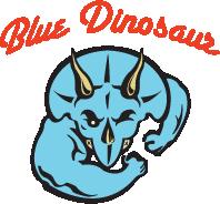 Blue Dinosaur bars